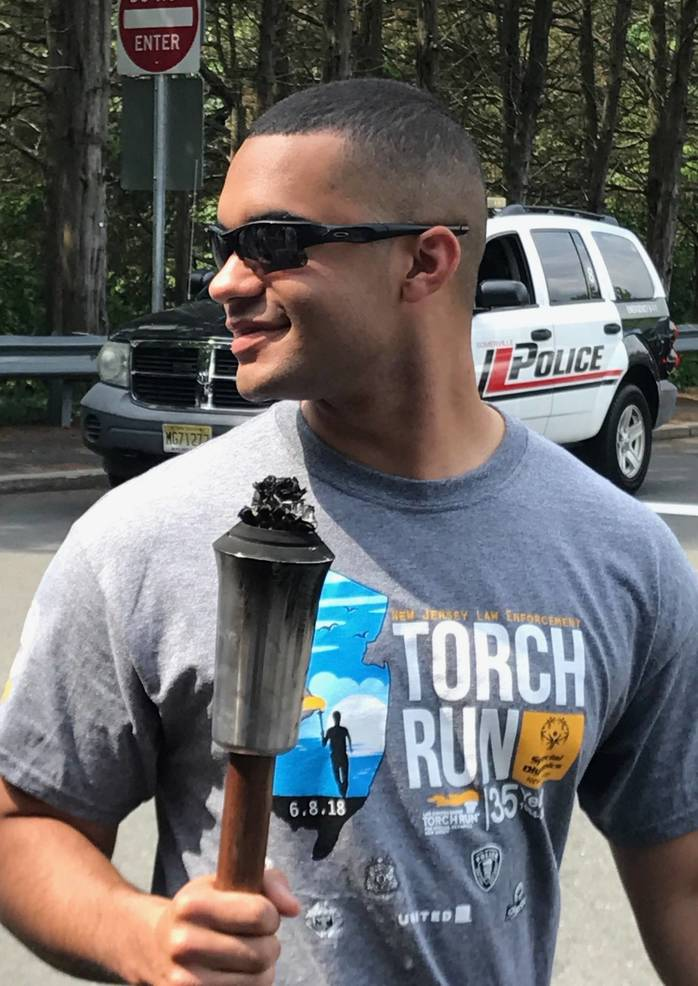 Hillsborough Police to Escort NJ Special Olympics Torch Down Route 206