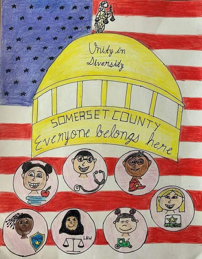 Artwork by Hillsborough Student Wins County Diversity Award
