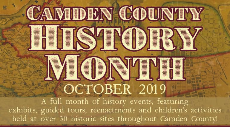 Camden County History Month in October to Feature More Than 50 Events