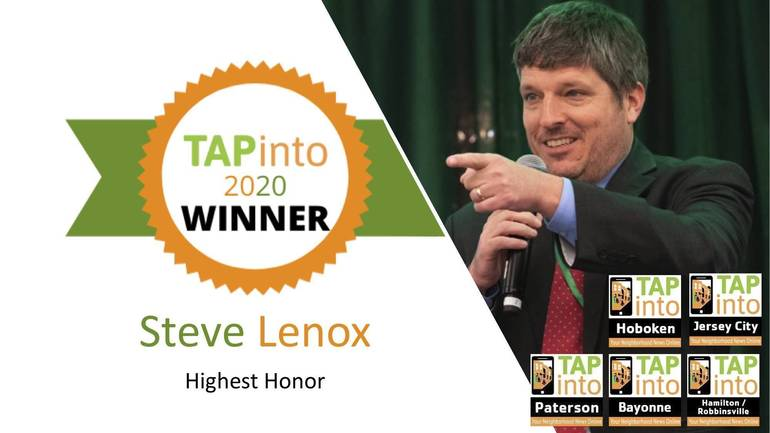 TAPinto 2020 Highest Honor Winner: Steve Lenox