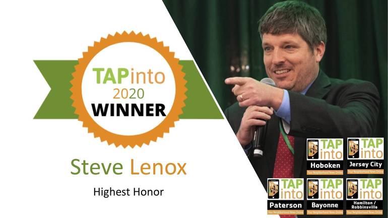 TAPinto 2020 Highest Honor Winner: Steve Lenox
