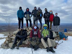 Boy Scouts Hike the Scenic Appalachian Trail