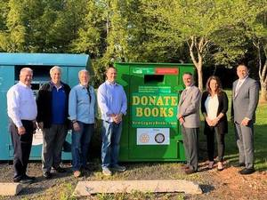 Rotary Club of Hillsborough Partners with Township to Collect Books
