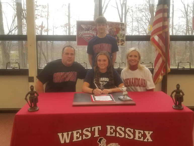 West Essex Girls Soccer Player Alexa Houmis Signs College Letter of Intent