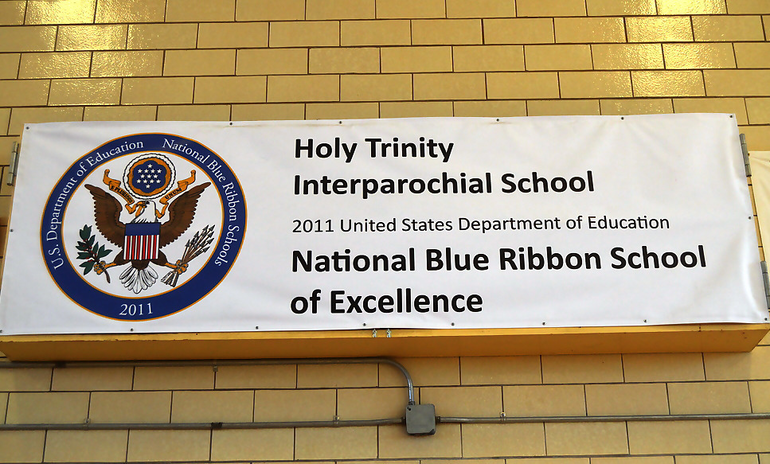 Holy Trinity - National Blue Ribbon banner.png