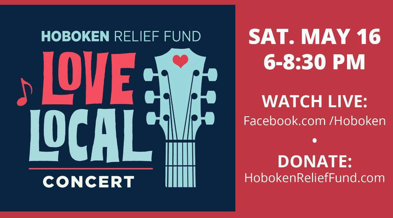"""Cake Boss, Mayor & More Join Hoboken Relief Fund """"Love Local"""" Online Concert — Saturday, May 16"""