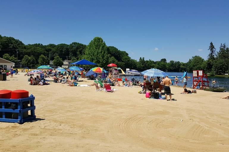 Roxbury, NJ, Horseshoe Lake Beach, Succasunna