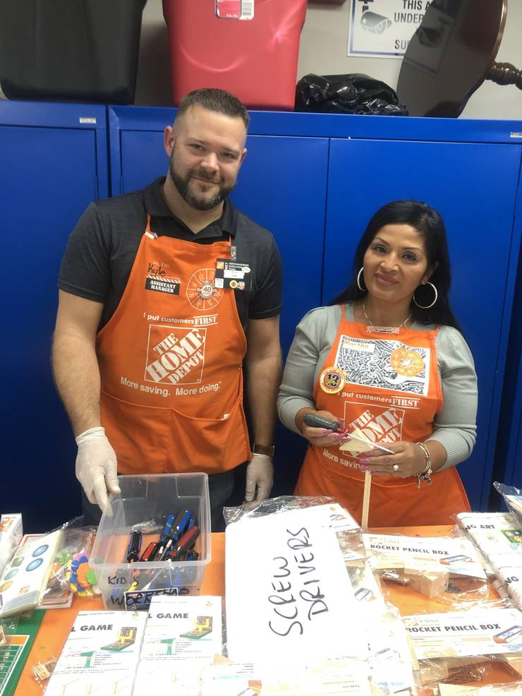 Home Depot Hosts Workshop At Kenilworth Public Library Tapinto