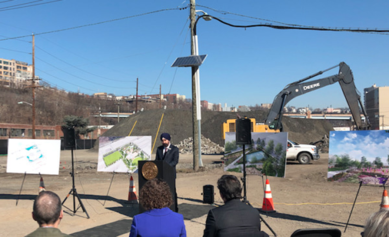 Hoboken Mayor Ravi Bhalla at the Northwest Resilency Park - 022420.png