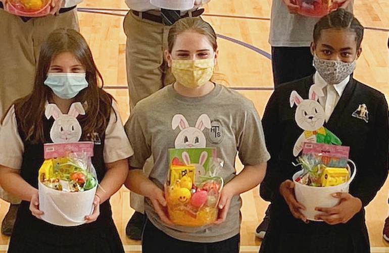 Best crop bcb76ad606d0c9936718 holy trinity students made easter baskets  1