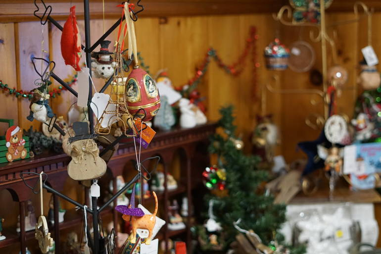 Hope Chest holiday decorations
