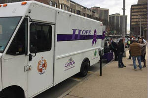 Roxbury Visit on April Schedule for County's HOPE ONE Van