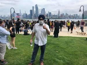 Carousel image 406ce9d25b189445578b hoboken rally for racial justice 4