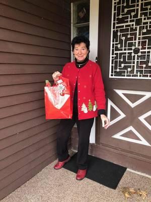 Randolph Seniors Celebrate the Holidays Safely