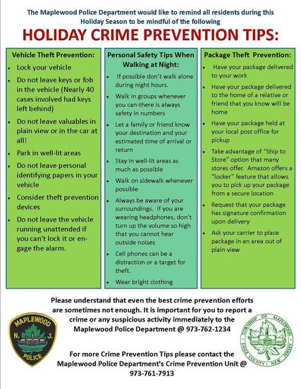 Top story a6b8d61fe078c19b78ea holiday crime prevention tips