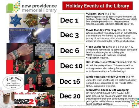 Top story f15e396a1f609e43b15a holiday events at the library