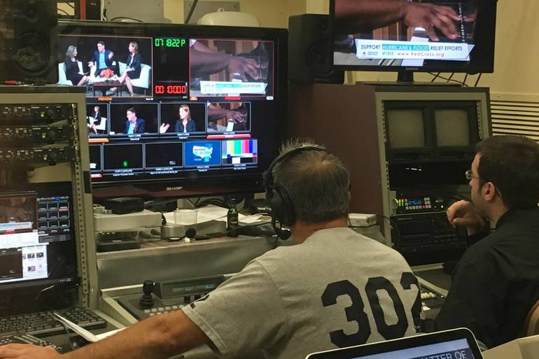 HomeTowne Television® Control Room