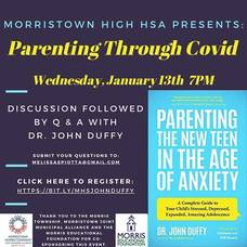 Morristown HSA Presents: Parenting Through COVID; Wed. Jan 13