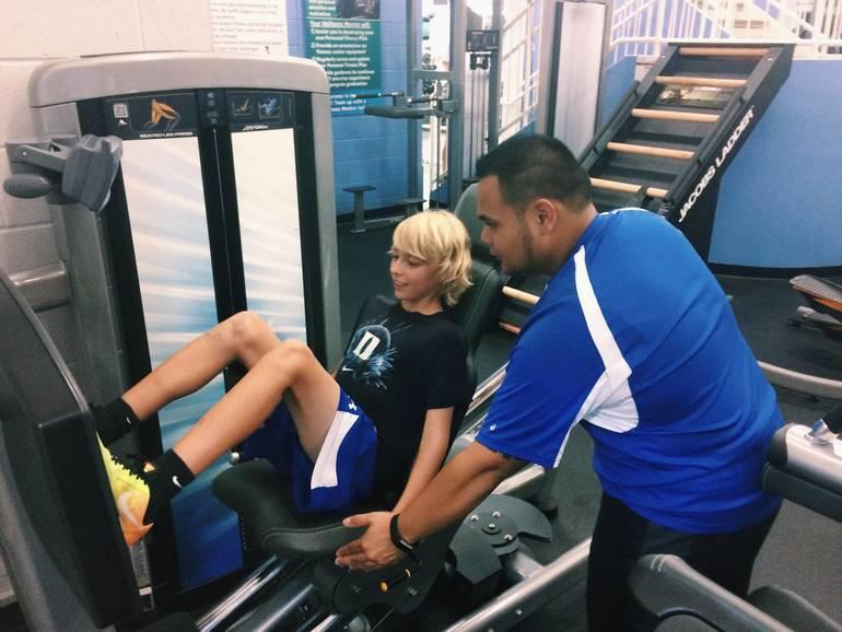 Hunterdon ymca Omar_-_training_7th_Grade_Member.jpg
