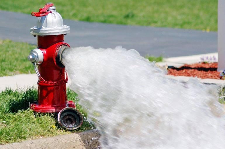 Hydrant Flushing Begins May 10 in Cedar Grove