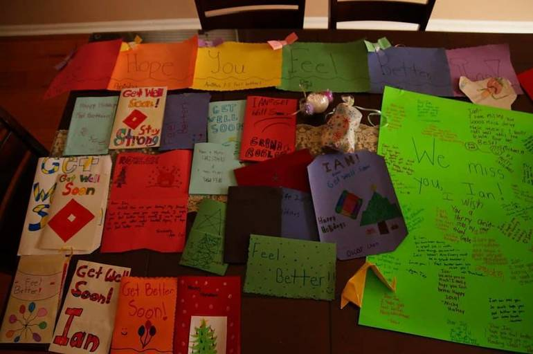 Ian's cards and letters.jpg