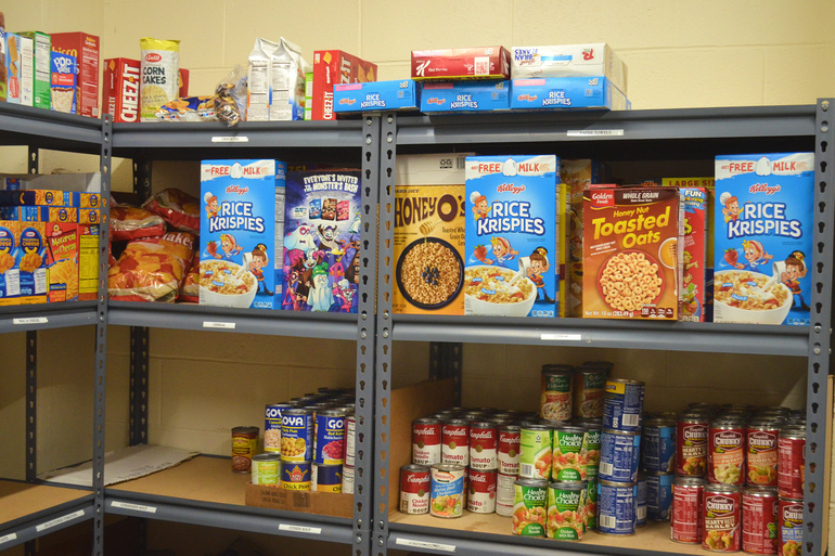 The number of families relying on the food pantry at Immaculate Heart of Mary (IHM) Church in Scotch Plains has risen dramatically.