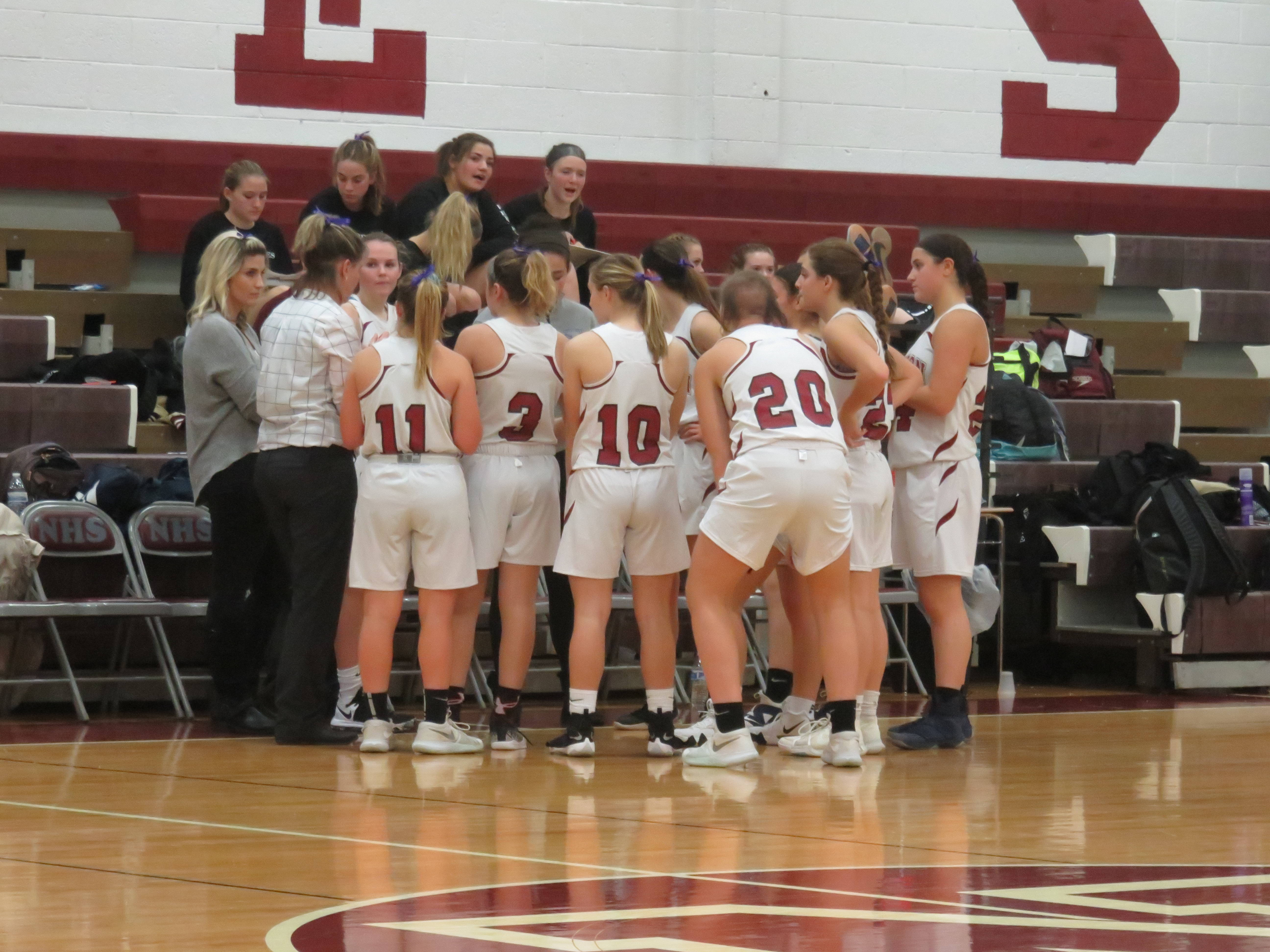 Newton Girls Basketball Team Takes First Loss of the Season