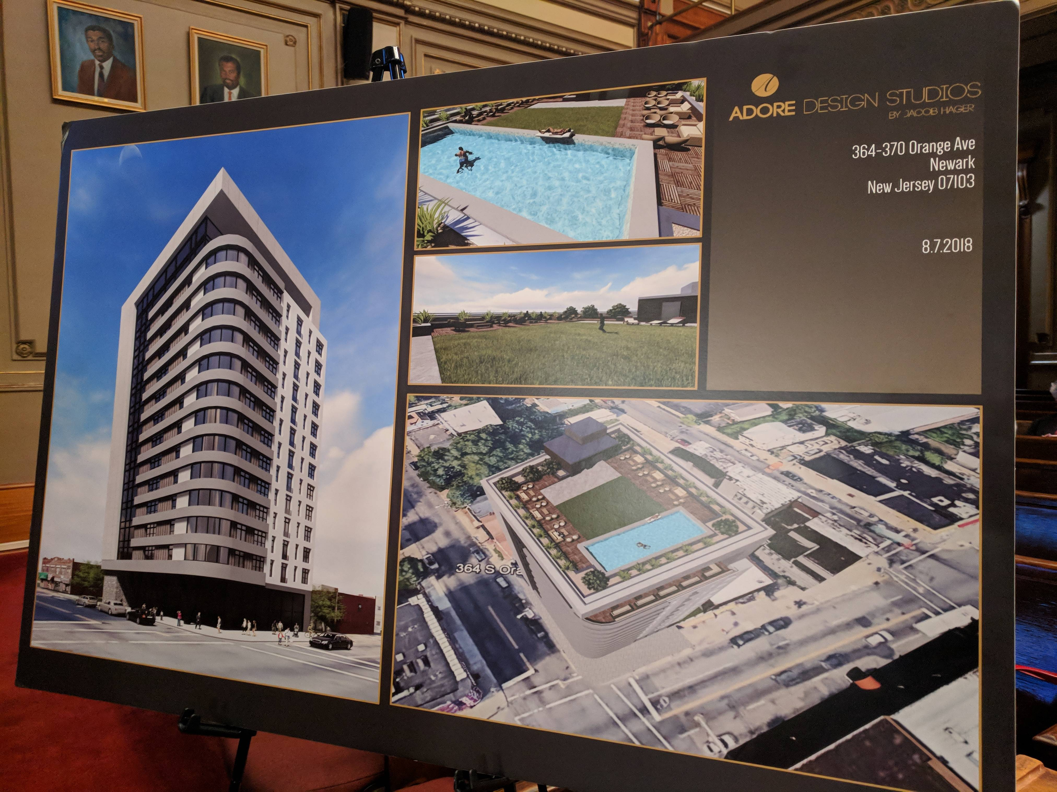 Developer Proposes 4 Residential Towers in Newark's West Ward