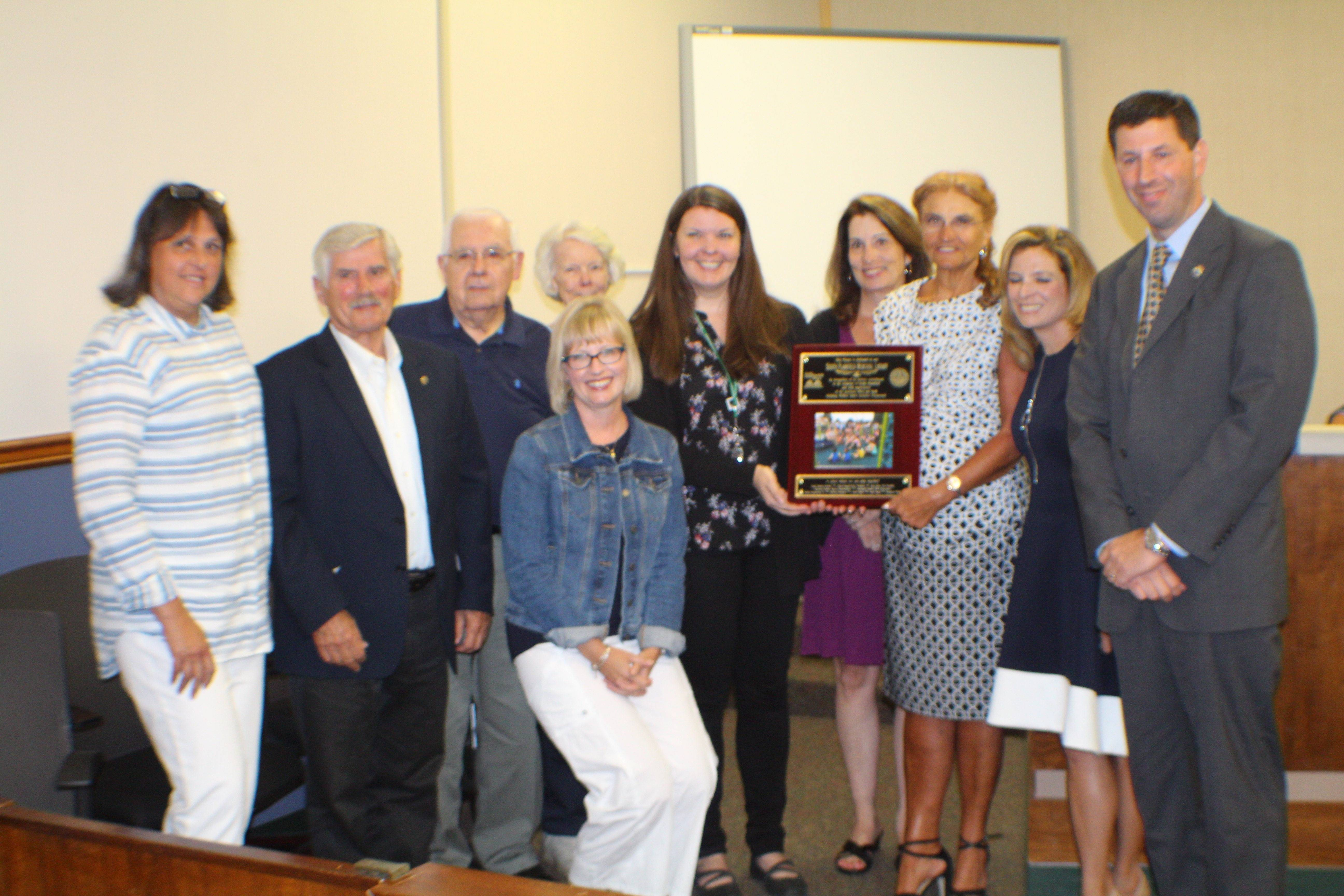 South Plainfield Library Trustees, Director Honored by Mayor, Council