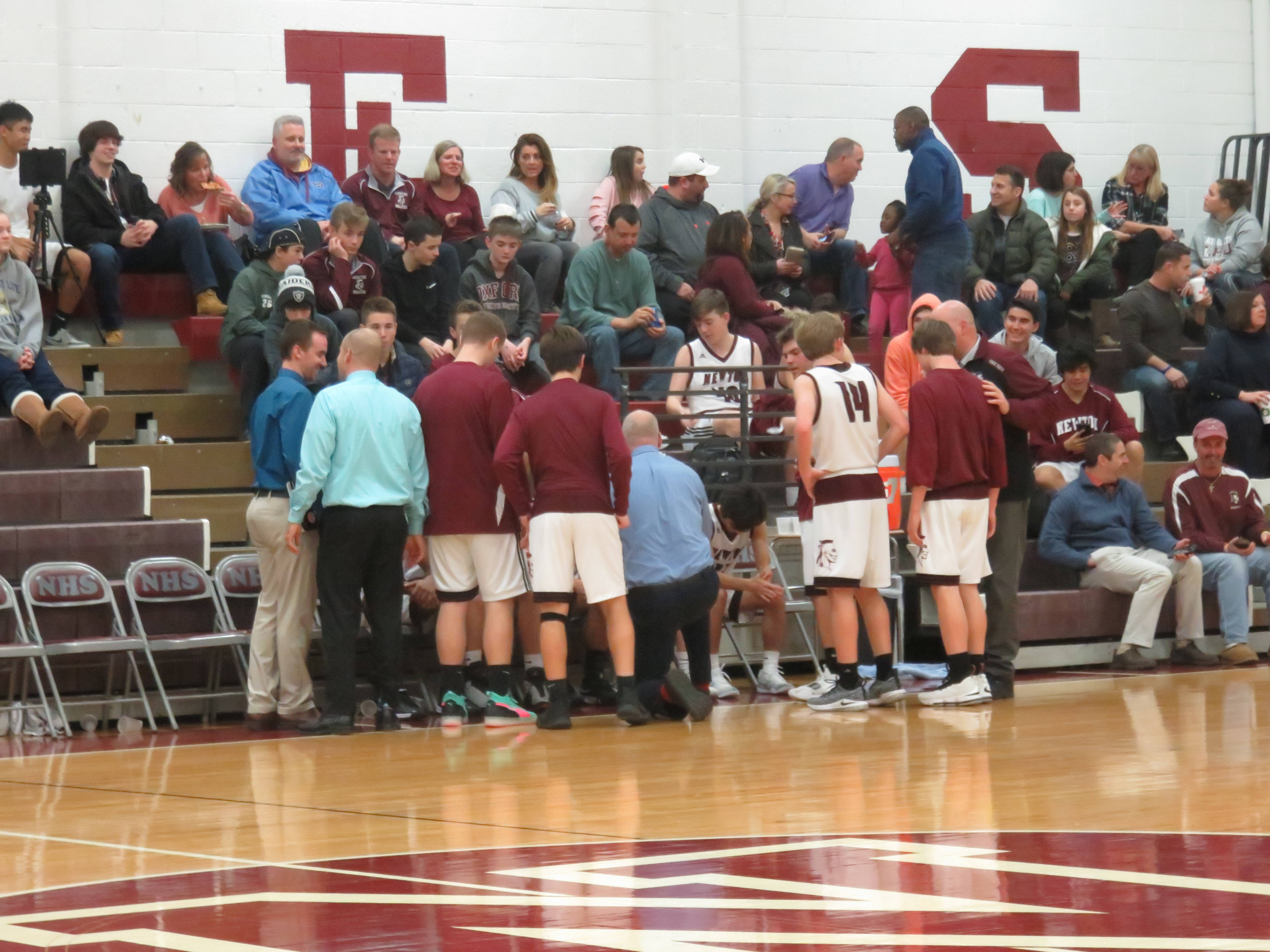 Newton Boys Basketball Losses Two Over the Weekend