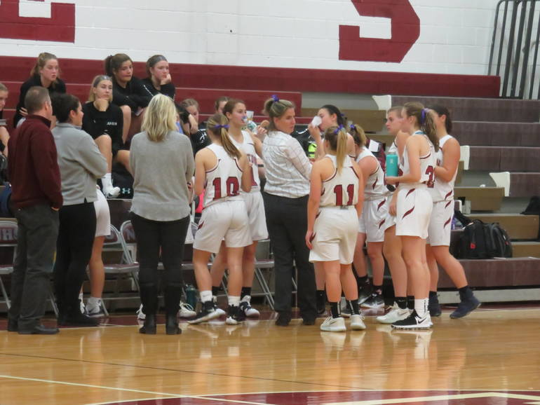 Newton Girls Basketball Loses by Two to Warren Hills in H/W/S Semi Finals