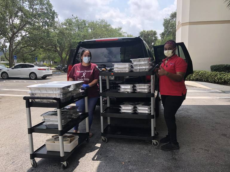 Insurance Agency Owner Buys Lunch for 200 Employees at Broward Health Coral Springs