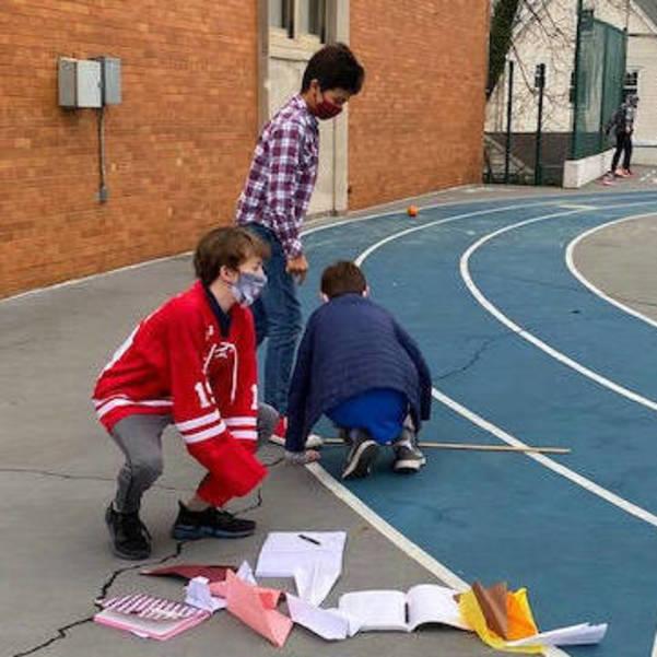 STEM Flies First Class at Holy Trinity School