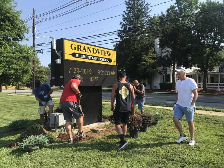 Grandview Elementary Sign