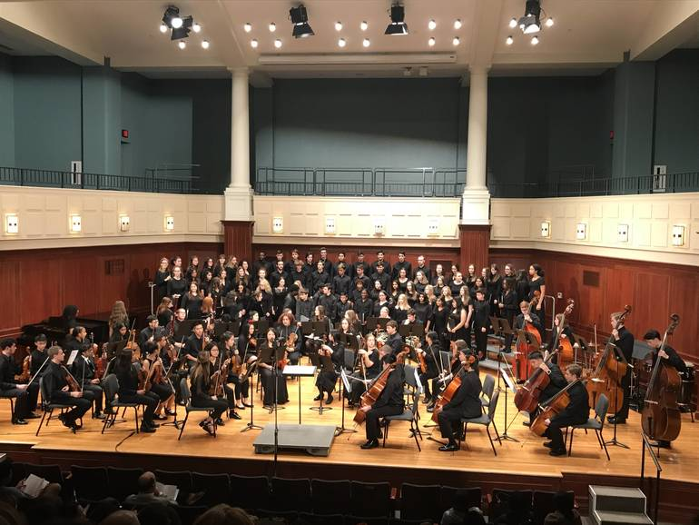 South Plainfield High School Music Students Featured at the College of New Jersey Honors Festival