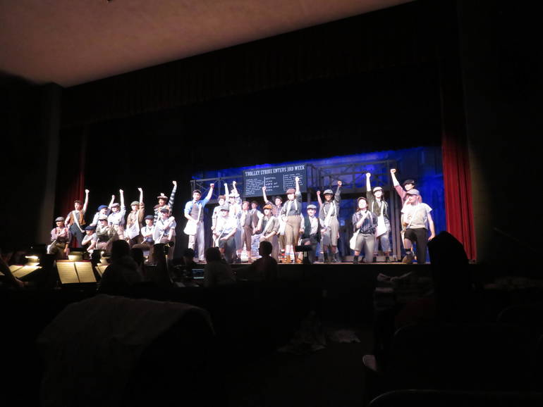 Newton High School presents Newsies