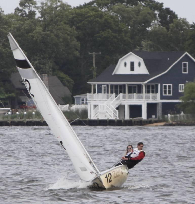 Chatham High Sailing Places 7th of 13 at NJISA State Championship