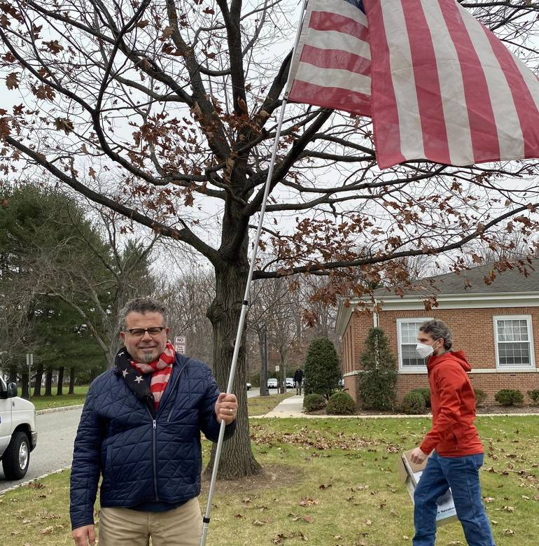 We The People NJ Hold 'March for Your Rights' Event in Morris Township