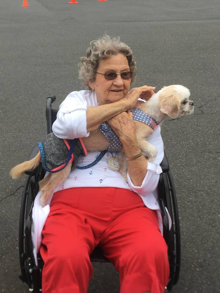 Arbor Terrace senior living development hosts Puppy Palooza event to