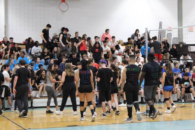Hills vs. High Spike Volleyball
