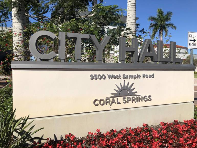 Coral Springs Suspends City Events With 50 Or More People