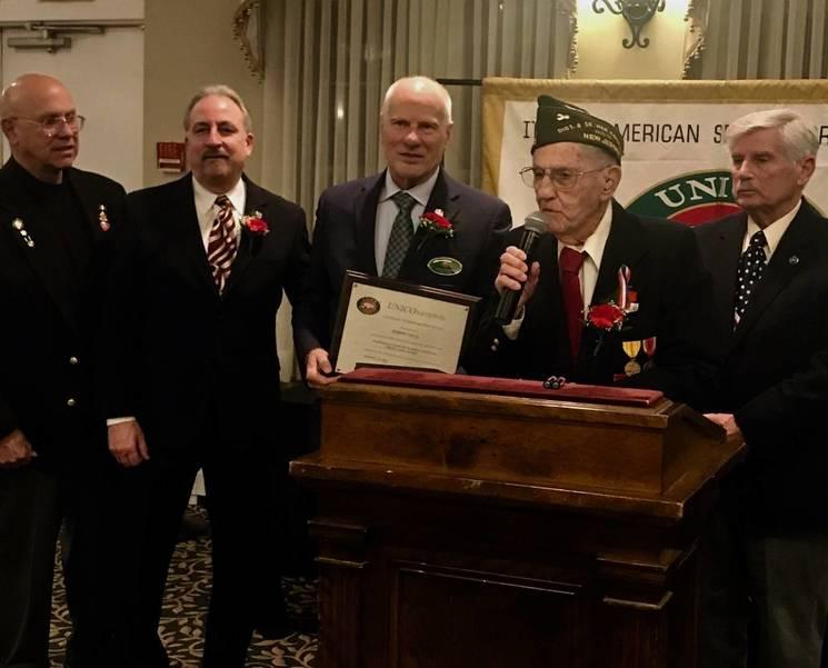 Joseph Vella Honored with UNICO Americanism Award
