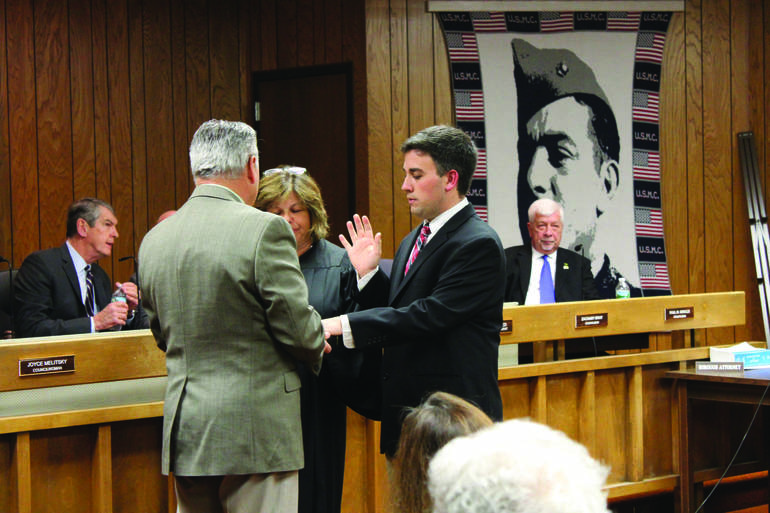 Zach Bray sworn in in January