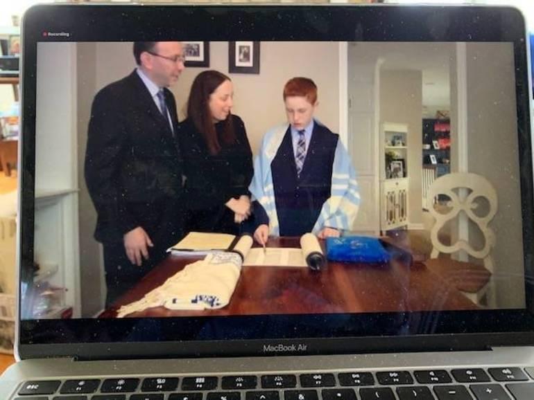 Selvers virtual bar mitzvah