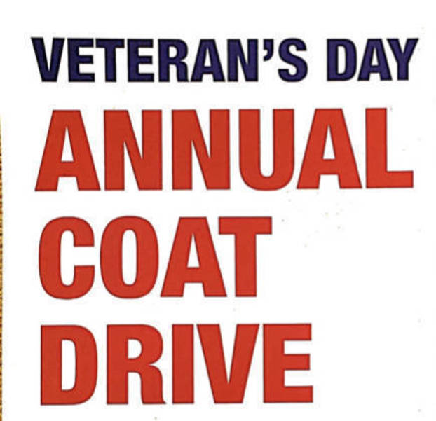Keep a Neighbor Warm, Donate New and Used Coats to American Legion Drive