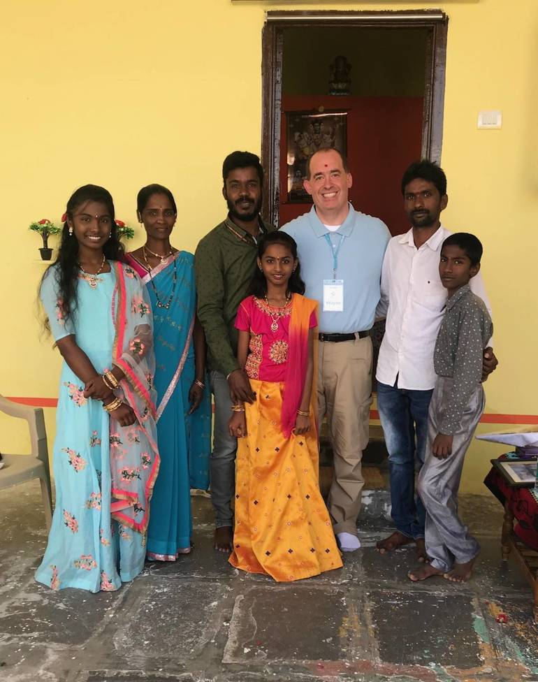 Fair Lawn Man Visits India As Part Of His Life Of Service