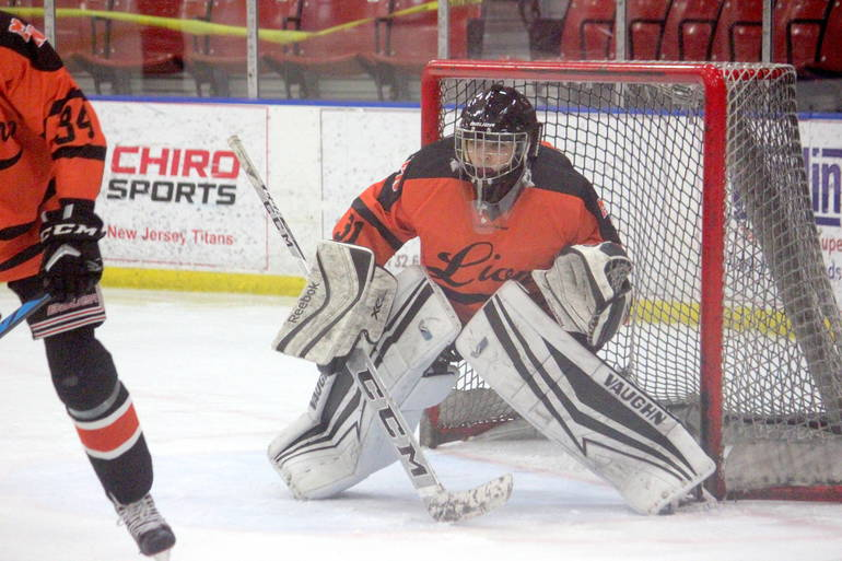 Ice Hockey: Milestone Night for Chrzan and Dickinson Lifts Middletown North over Jackson Liberty