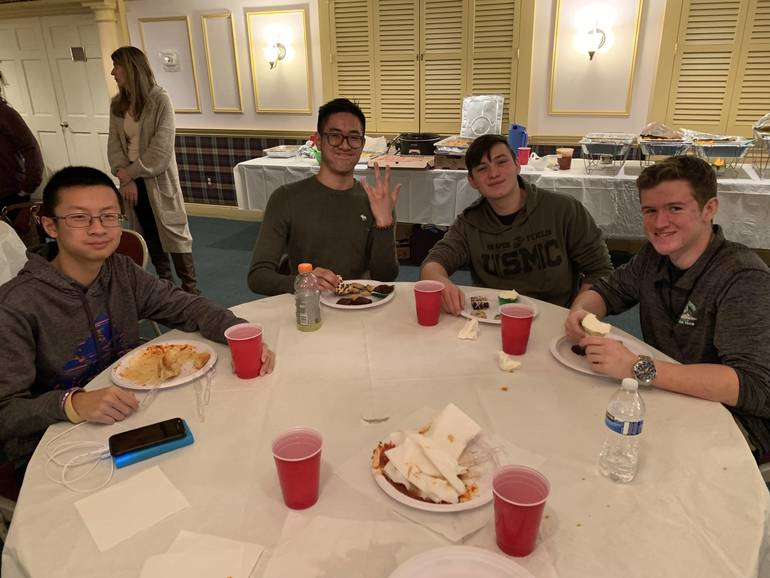 South Plainfield High School Swim Team Closes Season Breaking Personal Records, Championships and Pasta
