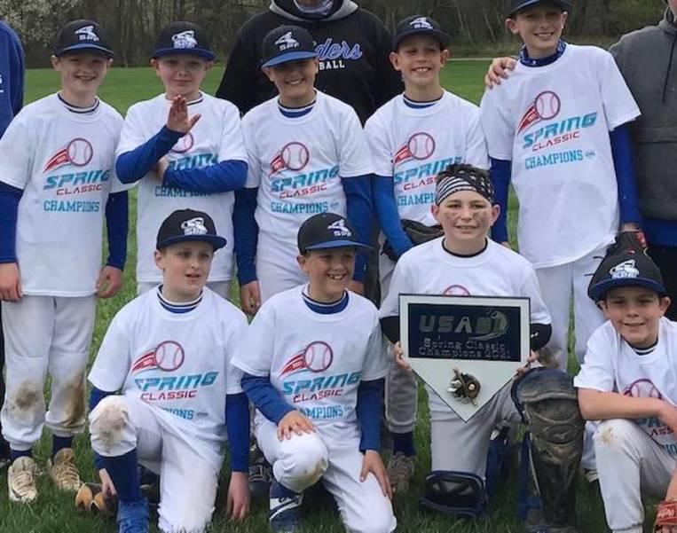 Scotch Plains-Fanwood's 10U Raiders Win Spring Classic Tournament in Branchburg