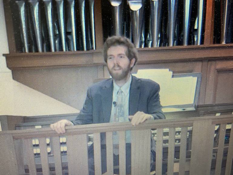 Virtual Hymn Sing Held at Faith Lutheran